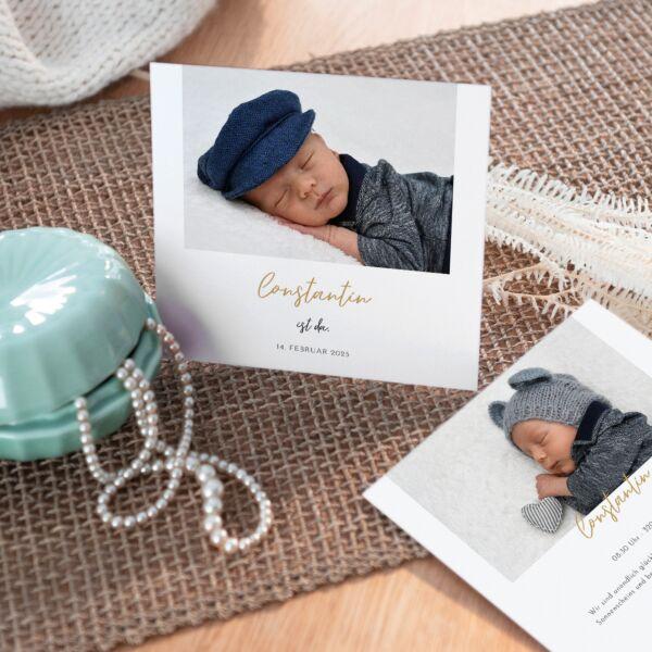 Geburtskarte Lieblingsstar