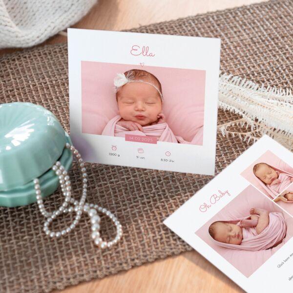 Geburtskarte Sonnenschein