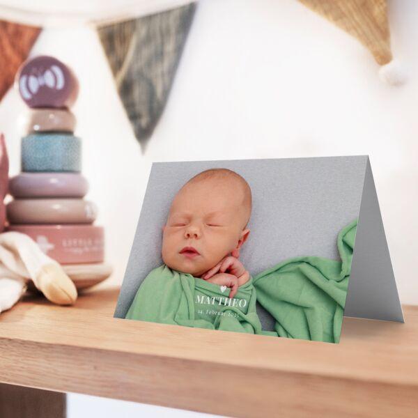 Geburtskarte In Love