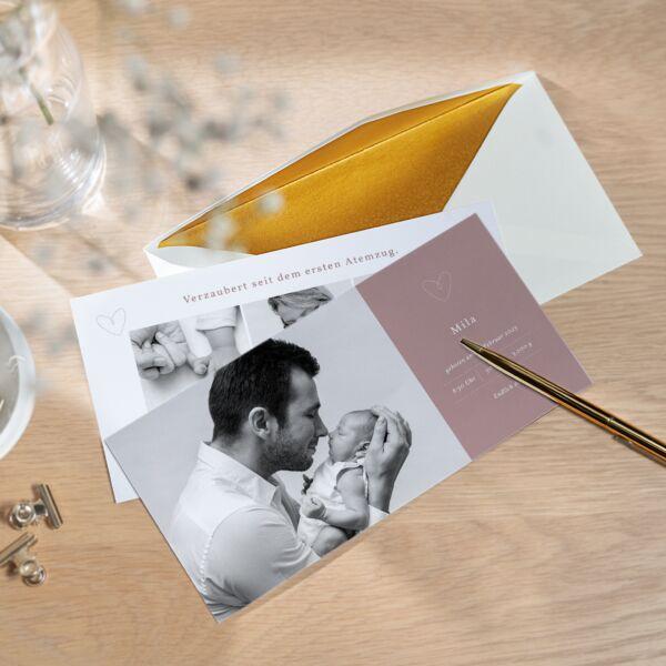 Geburtskarte Zauberei