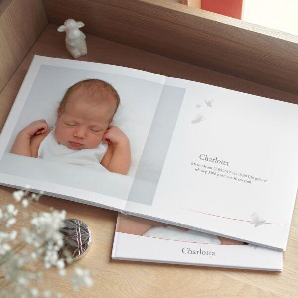 Fotobuch Quattro XL - Designlinie: Schmetterling
