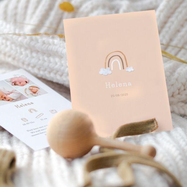 Geburtskarte Herzenswunsch
