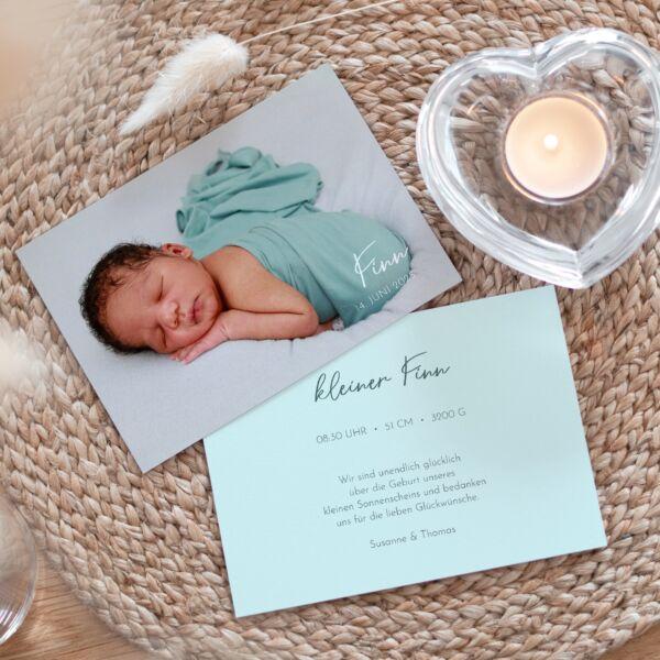 Geburtskarte Kleines Wunder