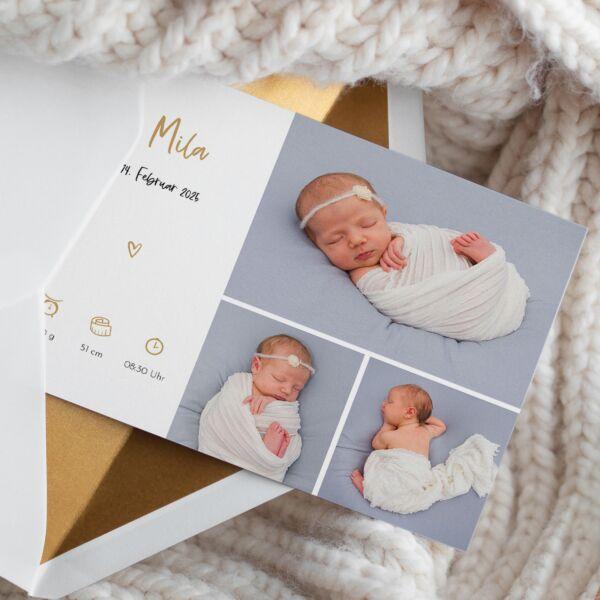 Geburtskarte Lieblingsmensch