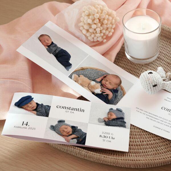 Geburtskarte Amore