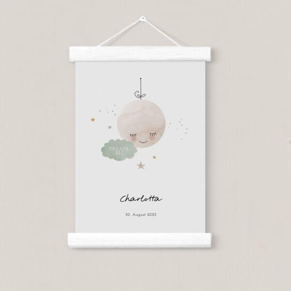 Posterleiste Weiß