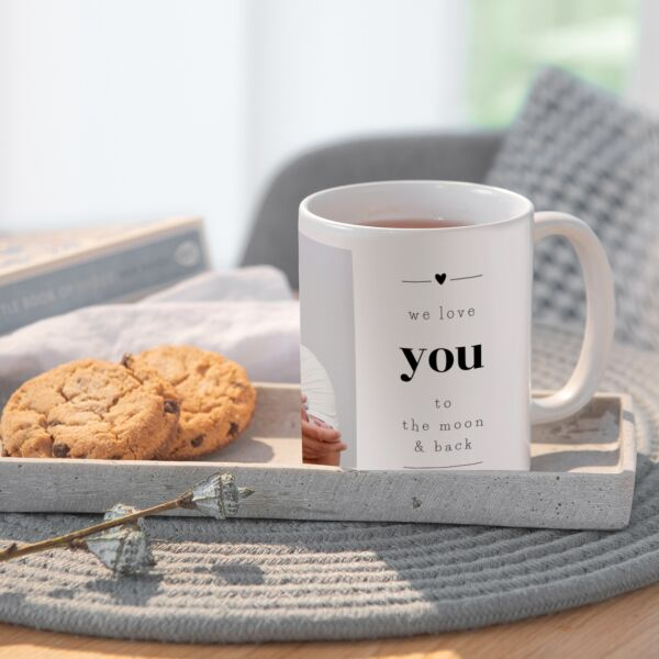 Tasse To the moon & back
