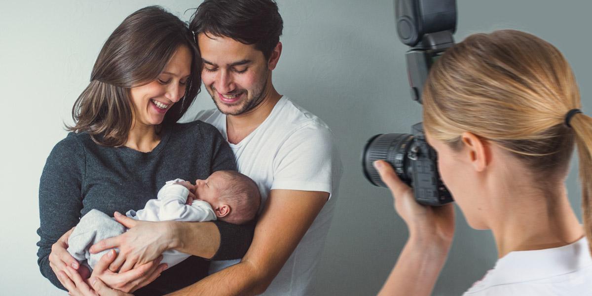 Babyfotografie in Studios